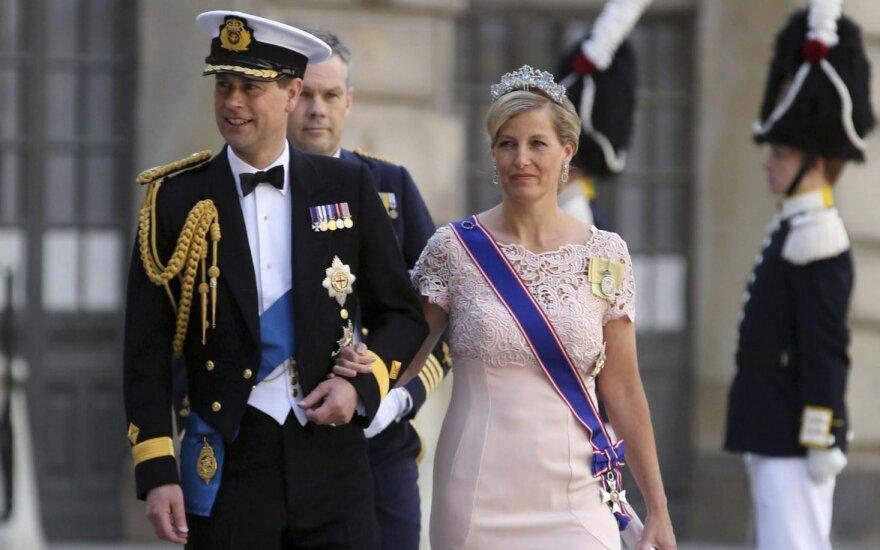 В Литву прибывает с визитом английский принц Эдвард