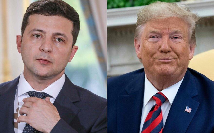 Volodymyras Zelenskis, Donaldas Trumpas