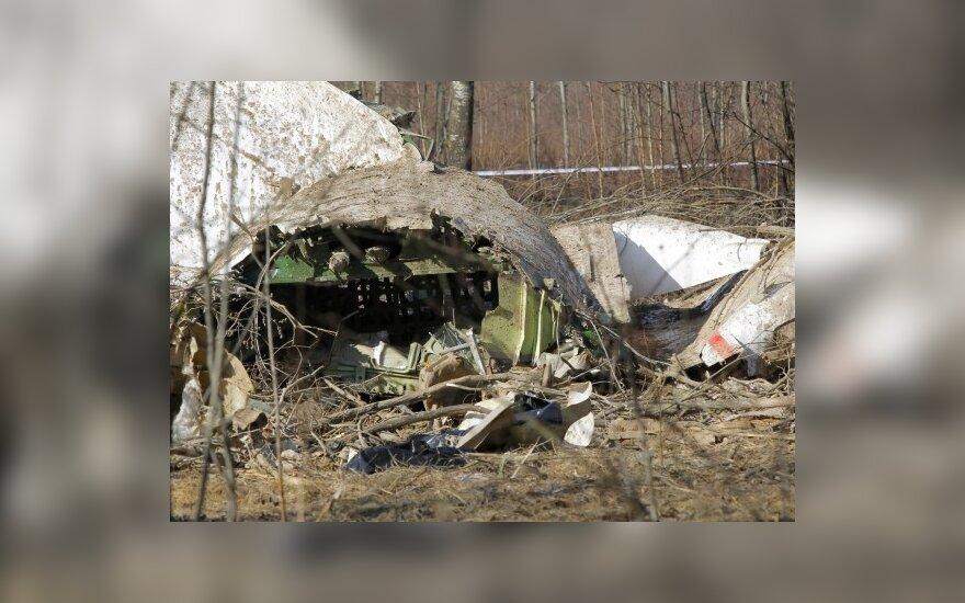 Польша заподозрила РФ в уничтожении обломков самолета Качиньского