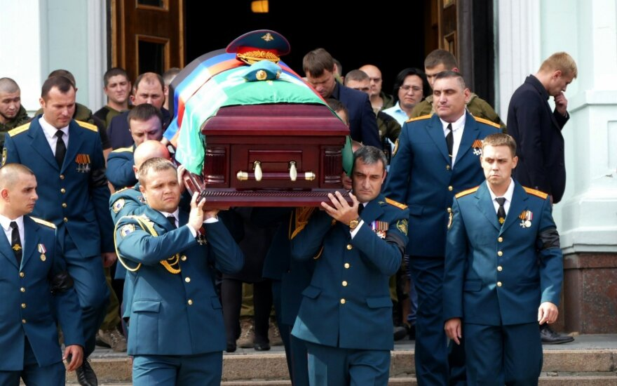 A. Zacharčenko laidotuvės