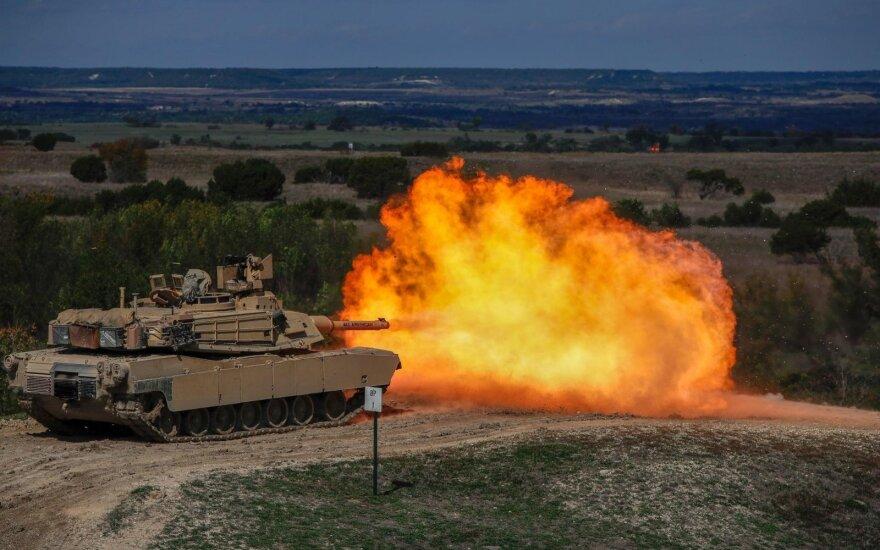 Американцы возвращаются: в Литву прибывает полтысячи военных США