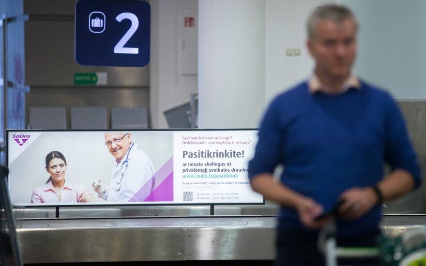 """""""Содра"""" """"приветствует"""" эмигрантов прямо в аэропорту"""