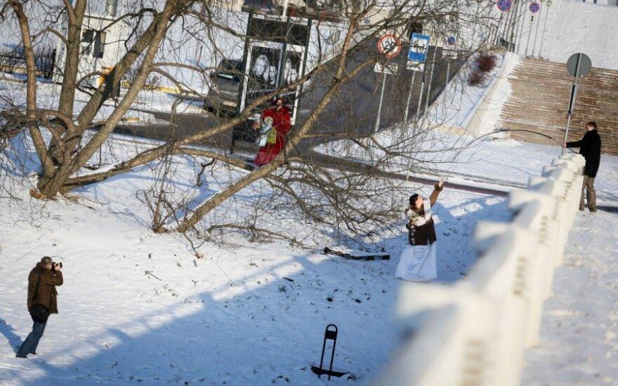 В крупных городах Литвы - первые жертвы холодов