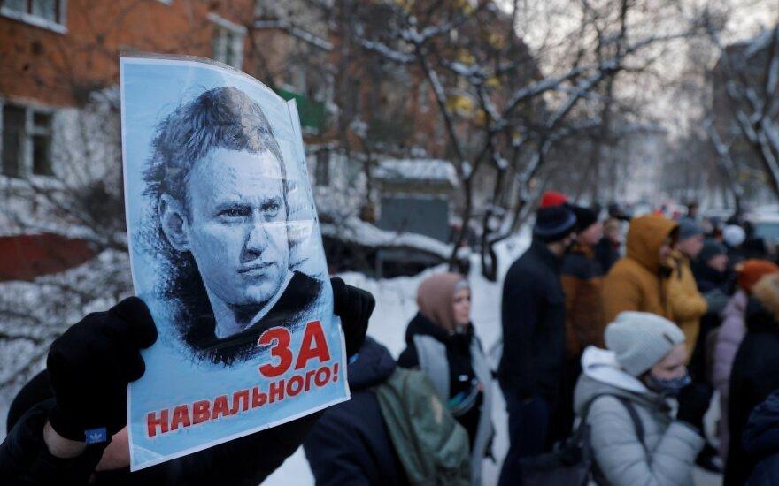 В Литве - акции в поддержку Алексея Навального