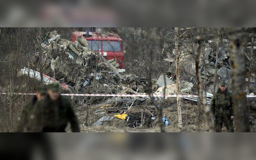 Katastrofos prie Smolensko vieta