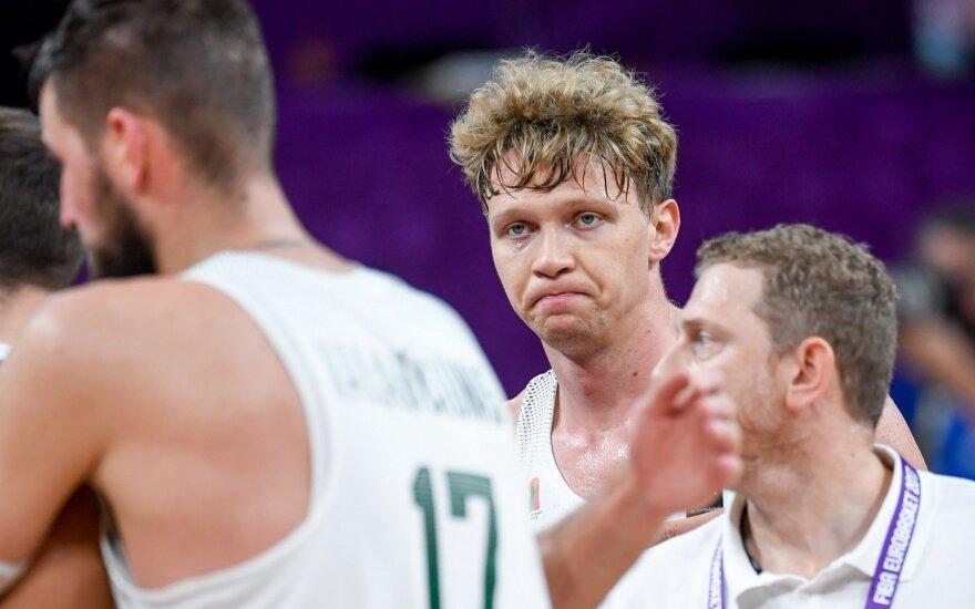 Надежды литовской сборной рухнули: команда проиграла грекам