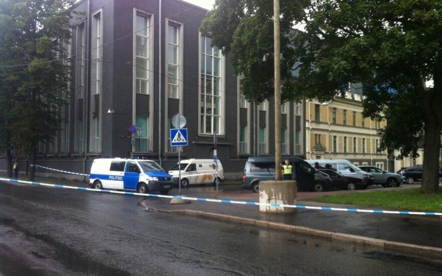 Здание МИД Эстонии оцеплено из-за стрельбы