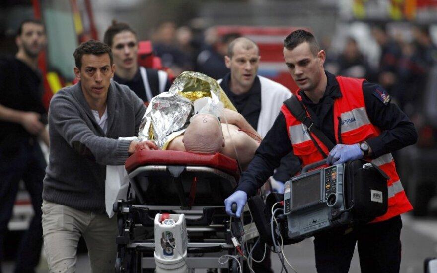Krwawy atak na redakcję w Paryżu