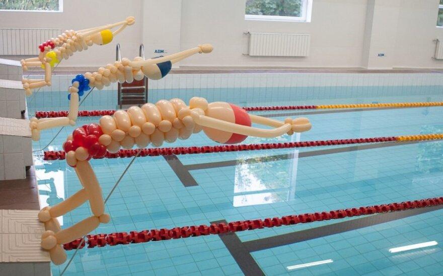 В Клайпеде открывается новый бассейн