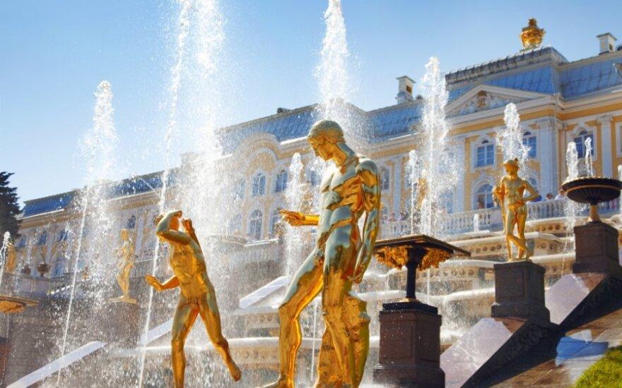 Peterhofo rūmai Sankt Peterburge