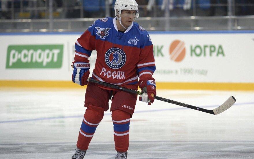 Хоккеист рассказал об установках перед матчем с Путиным: не втыкаться и не падать
