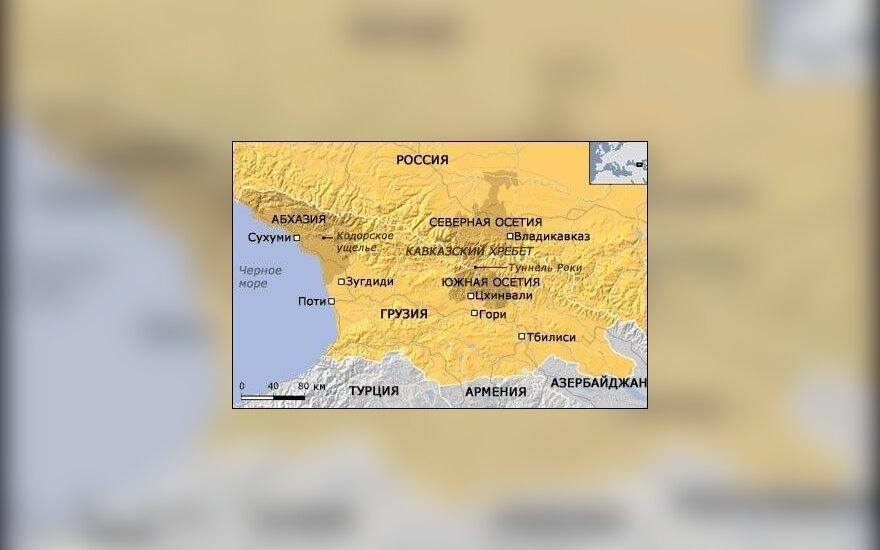 Путин пообещал Абхазии и Южной Осетии 10 млрд. рублей