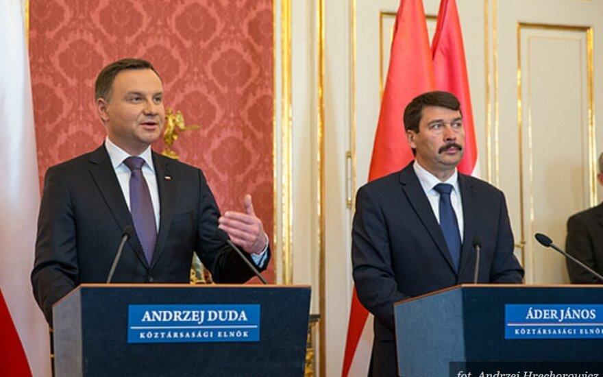 Andrzej Duda,  Áder Janos. Foto: prezydent.pl