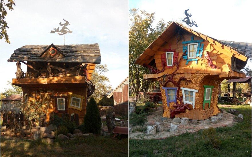 Raganų namas vaikams