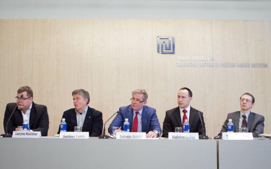 Министр: рядовые граждане должны больше знать о дипломатии Литвы