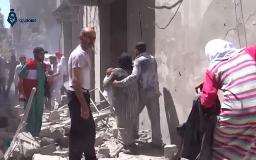 Алеппо подвергся самым массированным авиаударам за многие месяцы