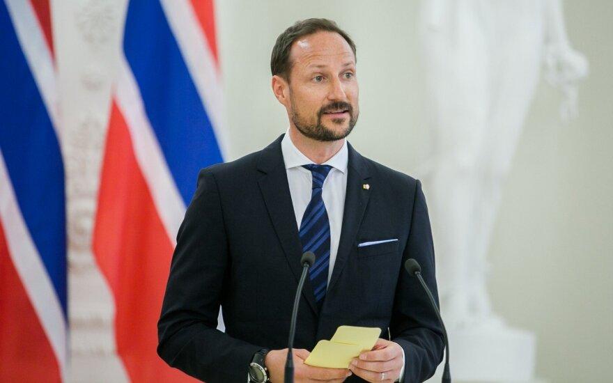 Norvegijos sosto įpėdinis kronprincas Haakonas
