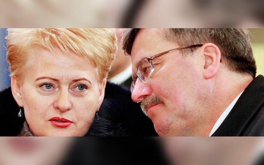 Dalia Grybauskaitė, Bronislawas Komorowskis