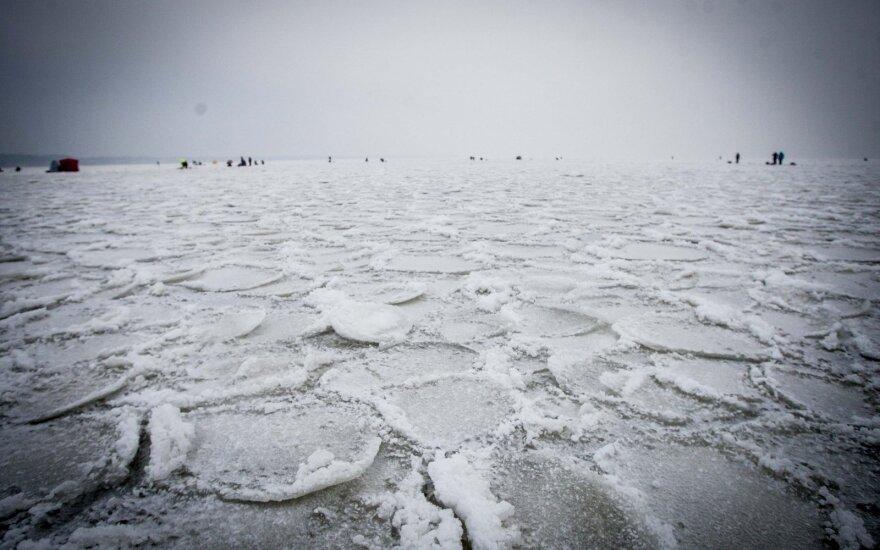 Скованное льдом взморье: вы давно не видели ничего красивее
