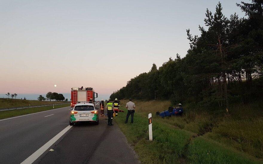 На дороге А2 произошло серьезное ДТП, мотоциклист сбежал