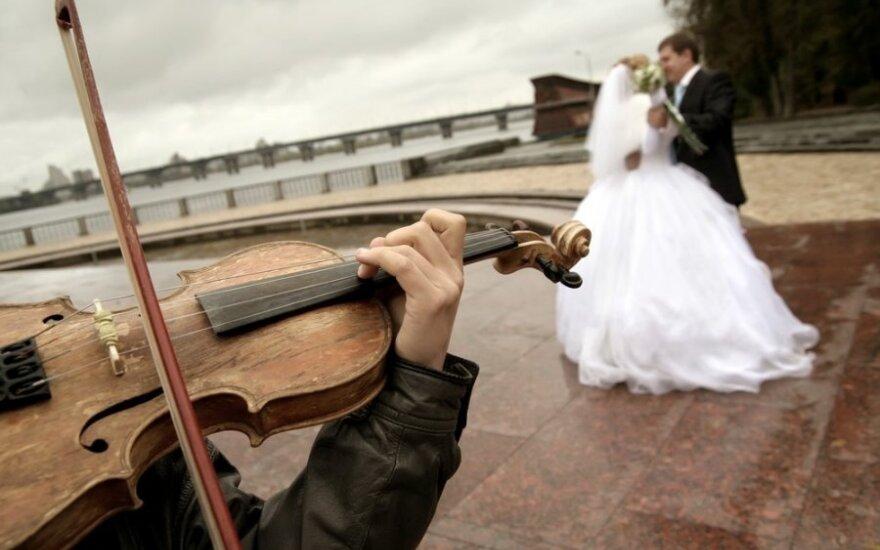 В Латвии наблюдается свадебный бум
