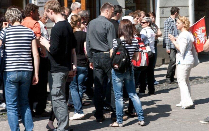 В Литву возвращаются туристы из Польши
