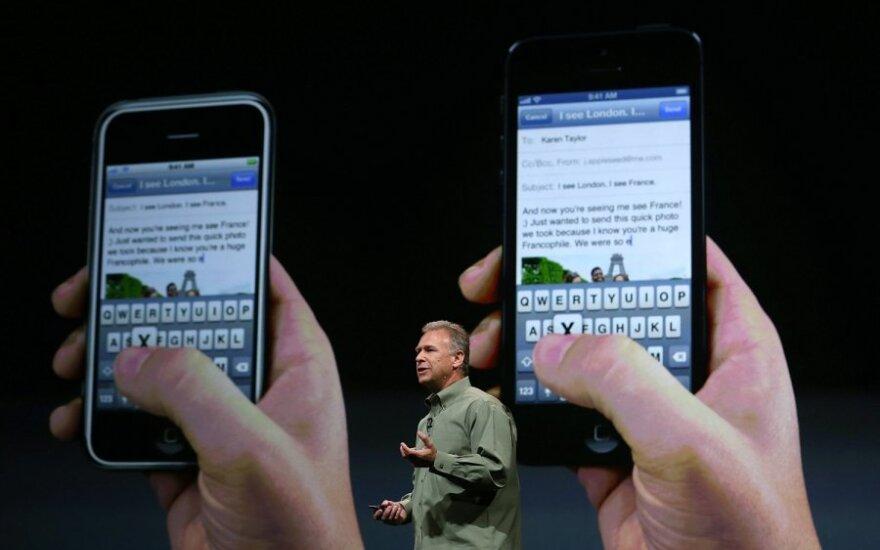 """""""iPhone 5"""" pristatymas"""