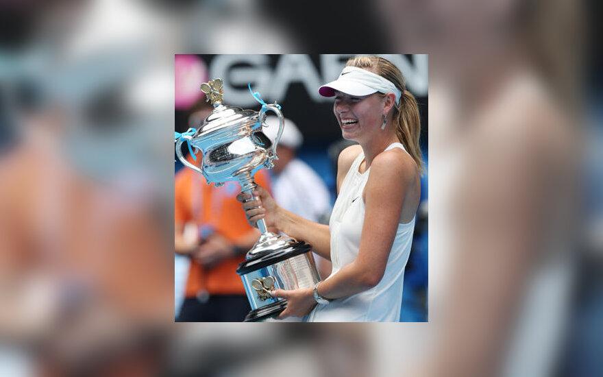 """Marija Šarapova - """"Australian Open"""" čempionė"""