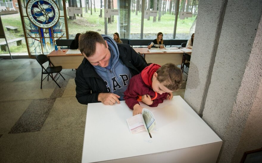 В Литве выбирали президента и европарламентариев