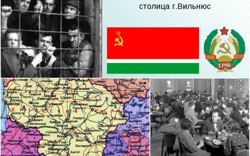 Вторая мировая война, послевоенная аннексия и советская Литва