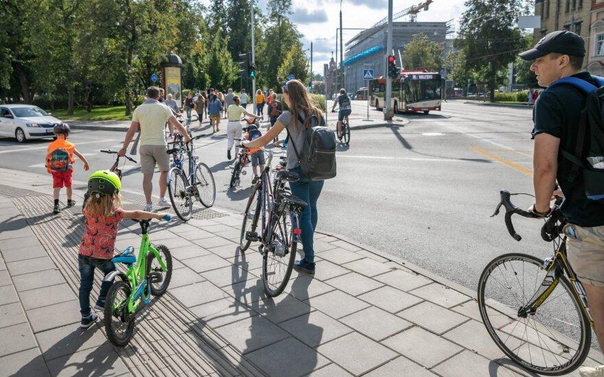 Вильнюс предлагает узаконить велосипедные дороги