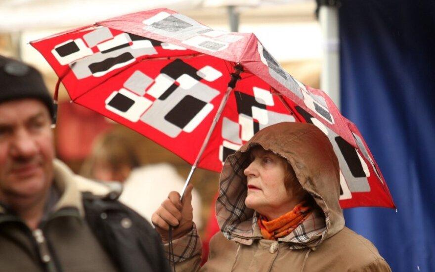 Погода: на ярмарку Казюкаса придется брать зонты