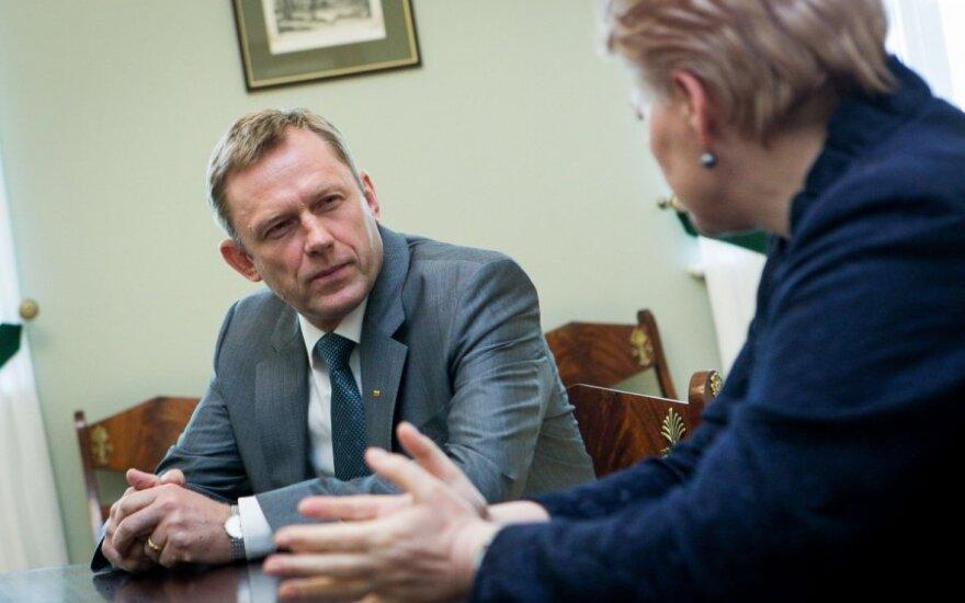 Президент обязала министра культуры охранять от атак инфопространство Литвы