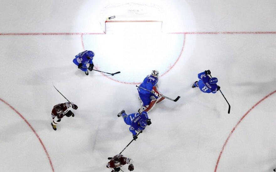 Pasaulio ledo ritulio čempionatas: Italija – Latvija