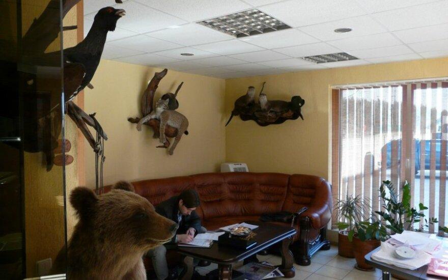 Bendrovės biuras Varėnoje