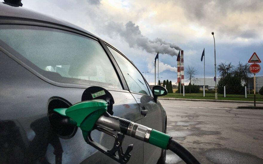 Цены на горючее в странах Балтии заметно увеличились