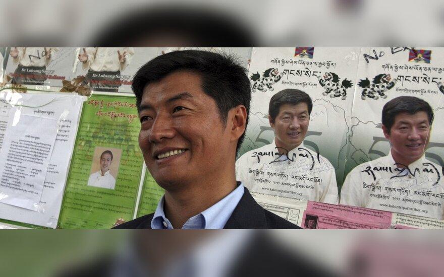 В Литву прибывет глава правительства Тибета в изгнании