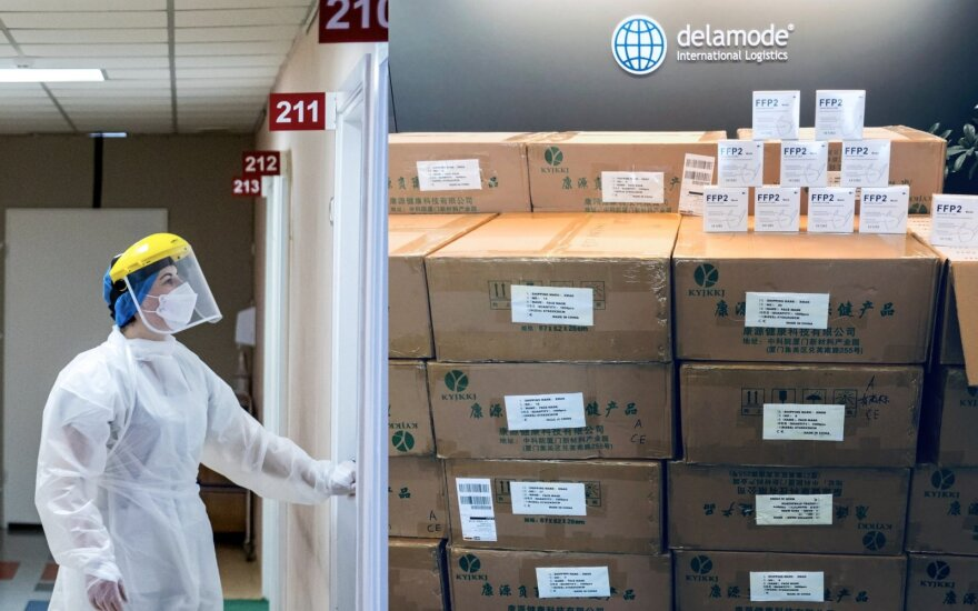 Совет экспертов предложит изменить порядок ношения масок в Литве