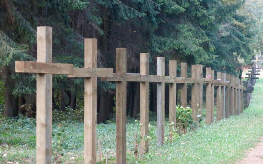 В Беларуси католики протестуют против снесения крестов в Куропатах