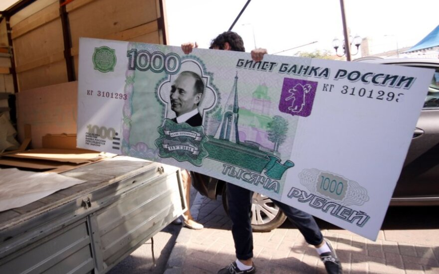 Россия ответит на санкции Запада переходом в расчетах на рубли