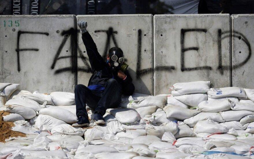 Protestai Tailande