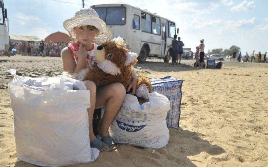 Гуманитарную посылку в Украину готовят и пожарные