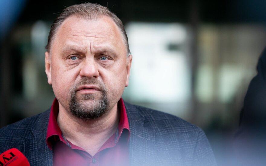 Суткус уходит с должности главы Конфедерации бизнеса Литвы