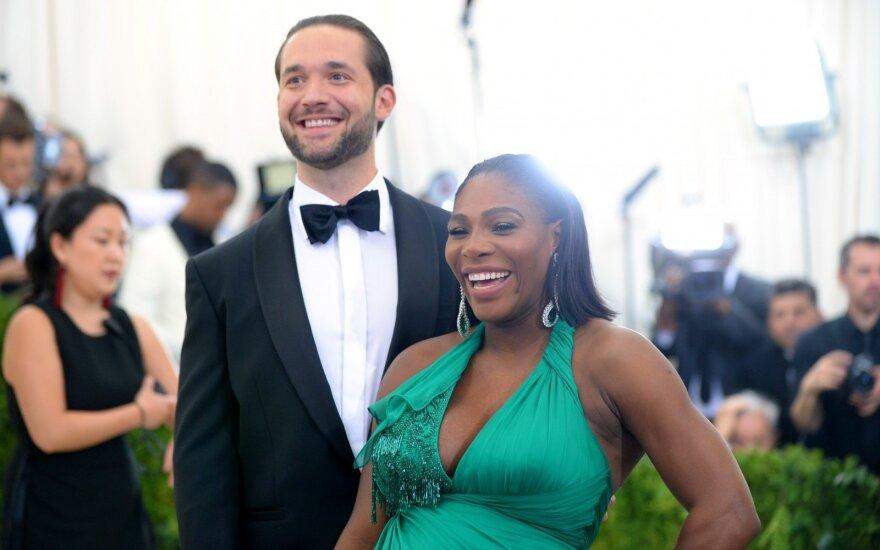 Serena Williams ir Alexis Ohanian
