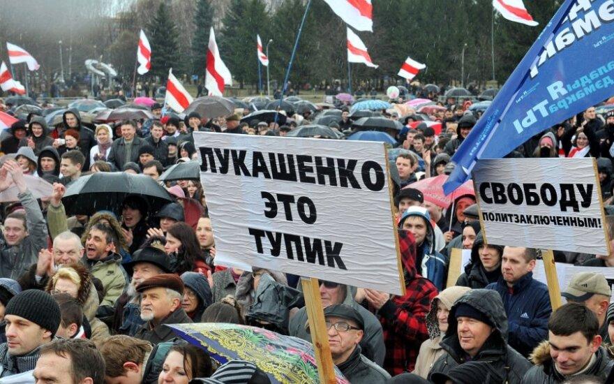 Mitingas Minske, Baltarusijoje