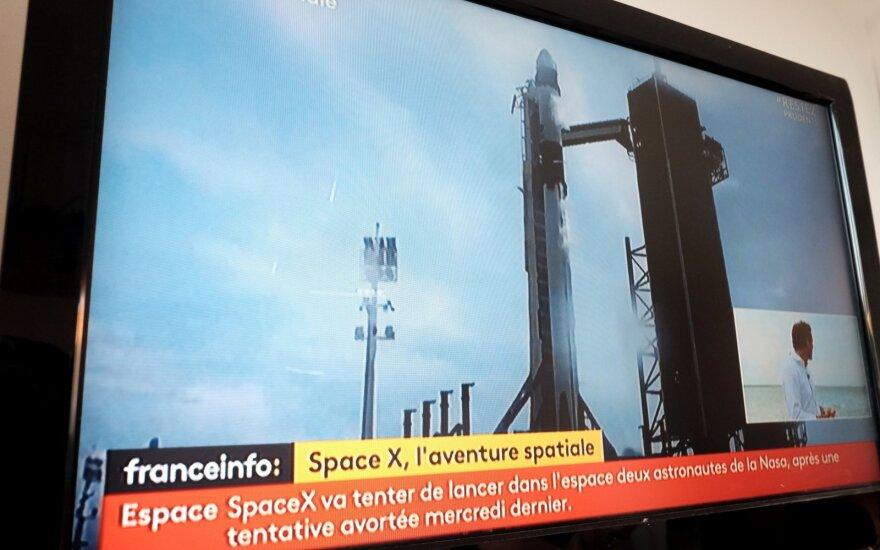 Space X pakilimas