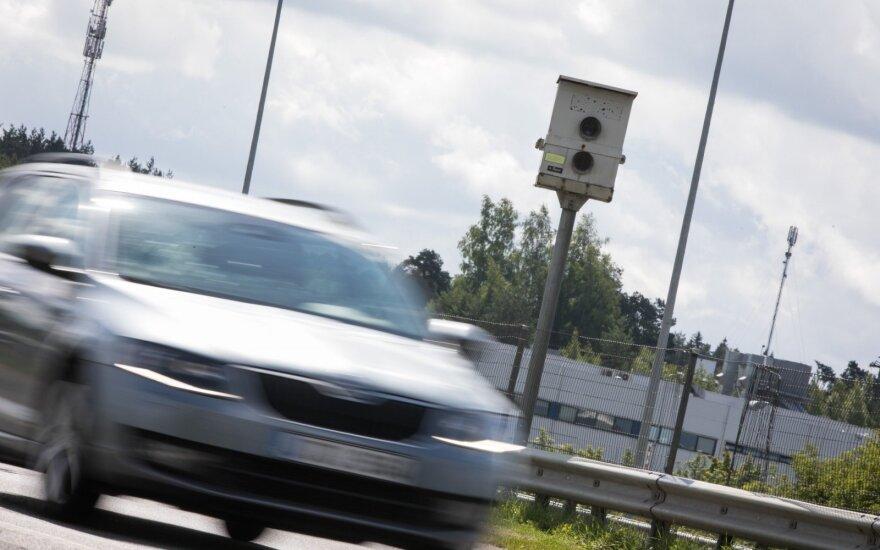 Лихачей в Литве ждут неприятности: новые радары будут фиксировать всех