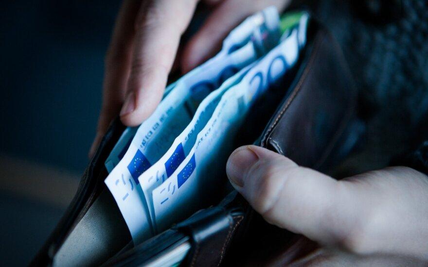 В Литве повышается минимальная месячная зарплата