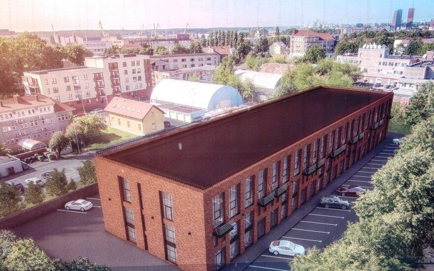 Лофты в Клайпеде раскупили еще до того, как закончились строительные работы