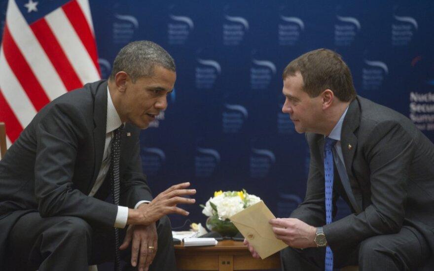 Переговоры Медведева с Обамой: Я понял. Я передам Владимиру
